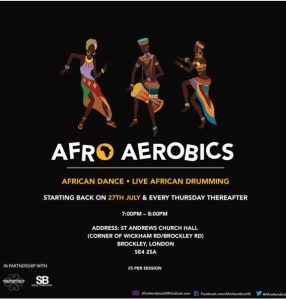 AFROAEROBICS IS BACK!