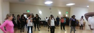 AFRO-AEROBICS WITH AHUK!